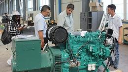 山东恒奥能源为青岛外贸公司提供发电机组解决方案